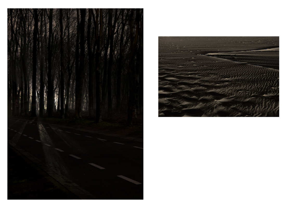 waves, digital photographs from the serie under a nameless moon by Sarah Janssen